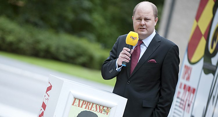 Expressens chefredaktör Thomas Mattsson