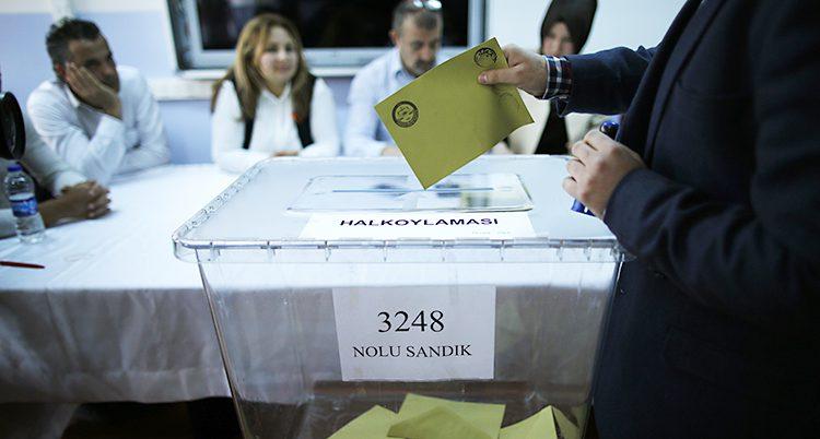 omröstning i Turkiet