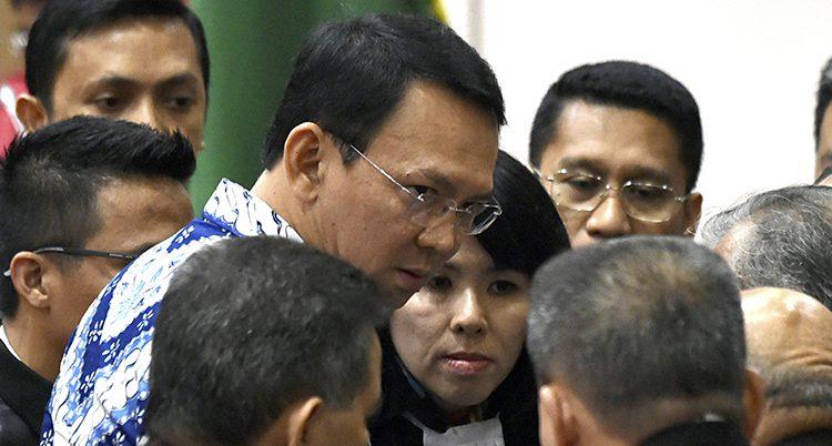 Jakartas guvernör Basuki Purnama