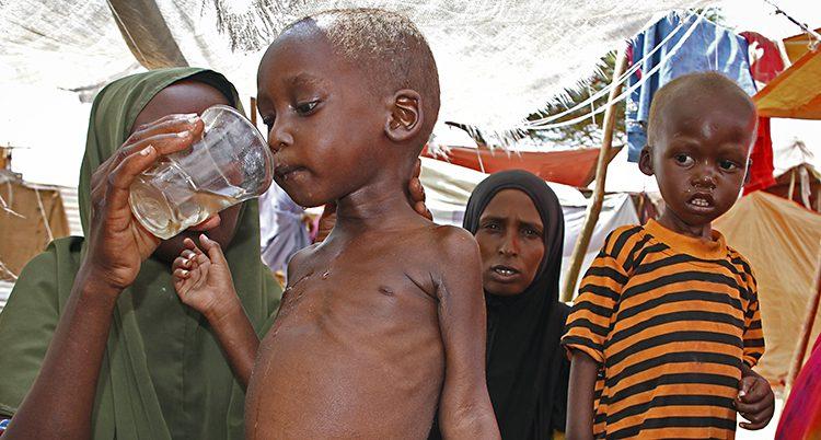 Barn i Somalia