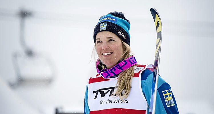 Skidåkaren Anna Holmlund