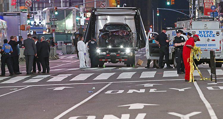 olycka i New York