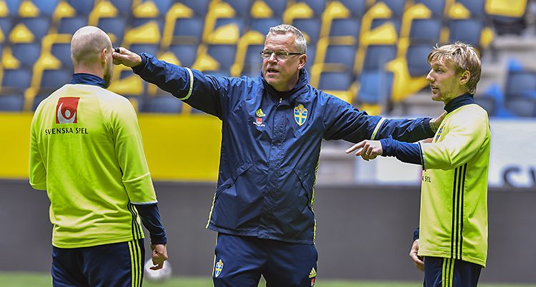 Sveriges tränare Janne Andersson.