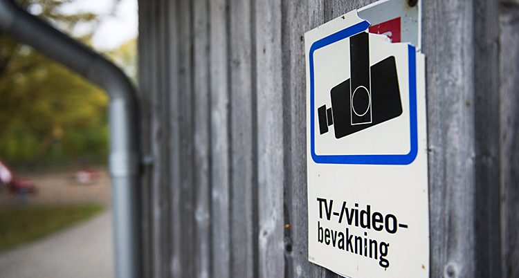En bevakningskamera