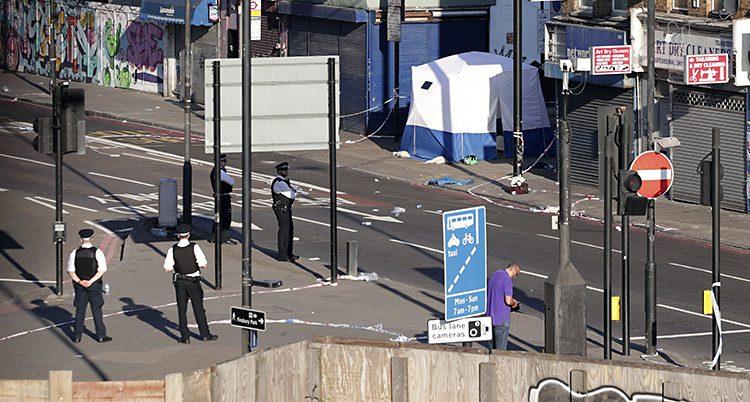 Poliser i Finsbury park