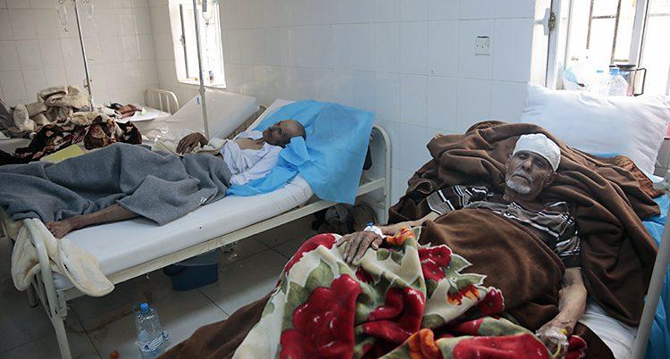 Sjuka i kolera