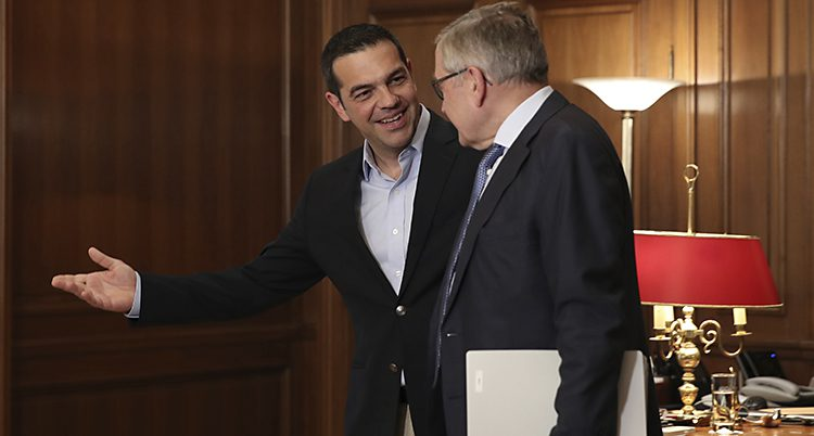 Grekland premiärminister Alexis Tsipras