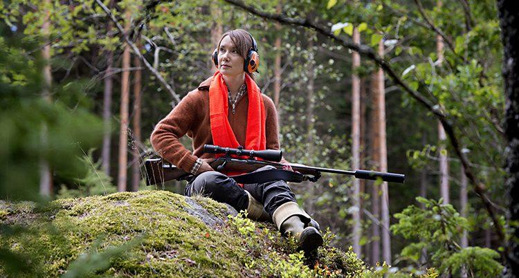 En kvinna på jakt