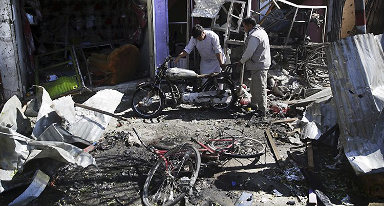 Bomb i Kabul