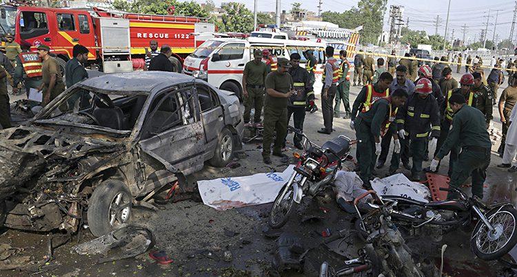 Bomb i Lahore