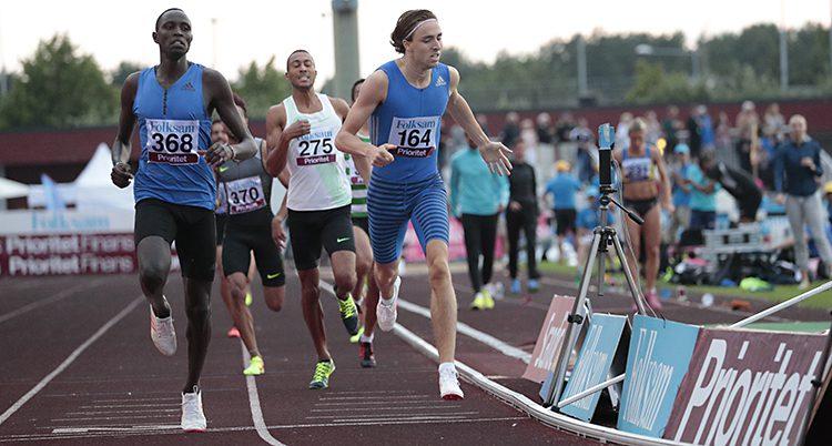 Andreas Kramer i rekordloppet