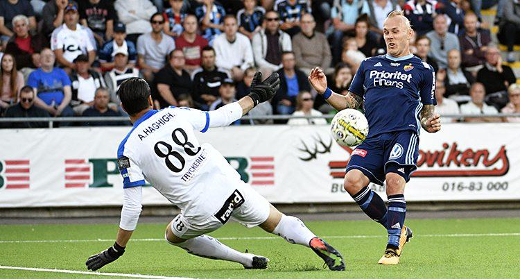 Djurgårdens Magnus Eriksson