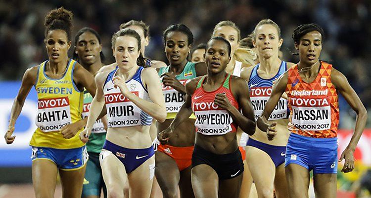 VM-loppet på 1500 meter