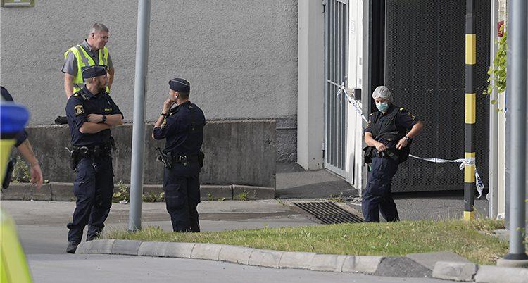 Poliser i området Östberga.