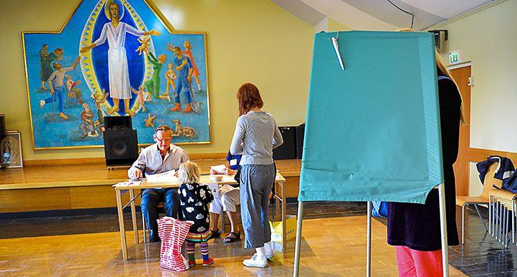 Få svenskar röstar i kyrkovalet