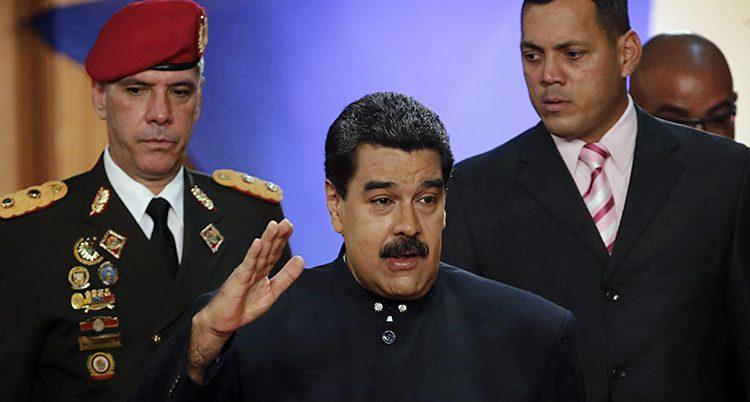 Venezuelas presidet Maduro