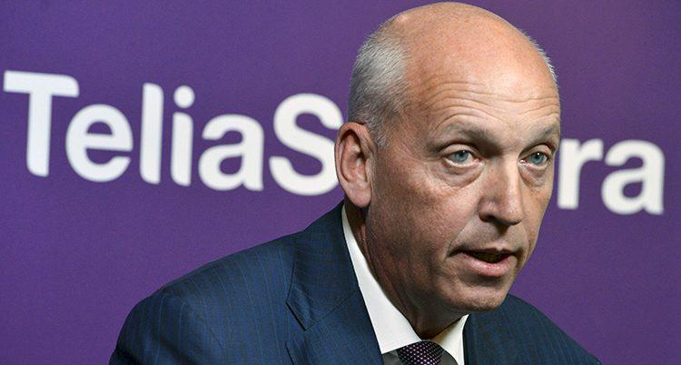 Telias förra chef Lars Nyberg