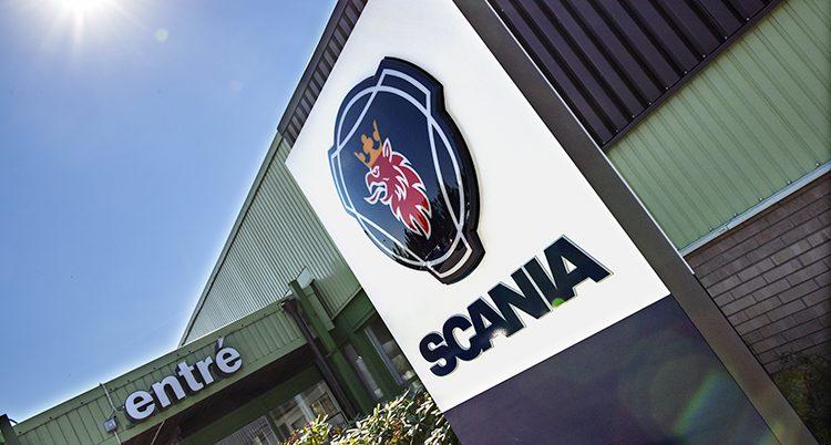 Scanias kontor i Södertälje