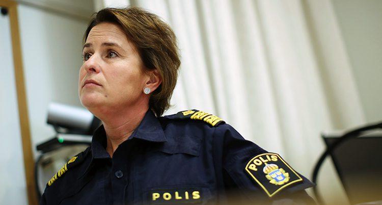 Emelie Kullmyr på polisen i Göteborg