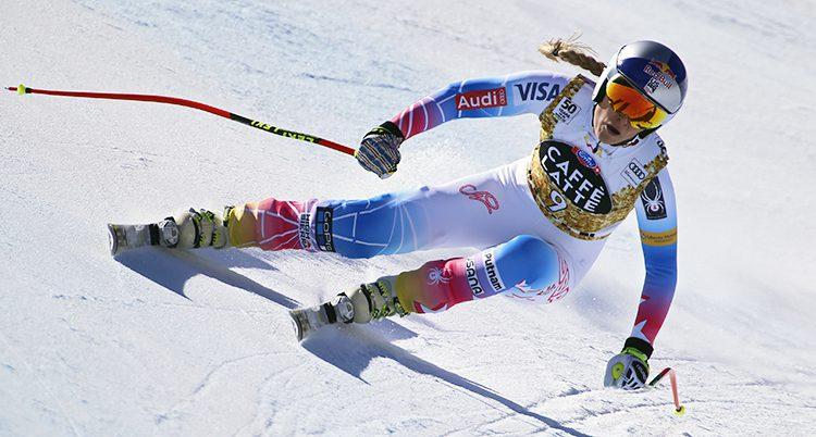 Lindsey Vonn i skidbacken