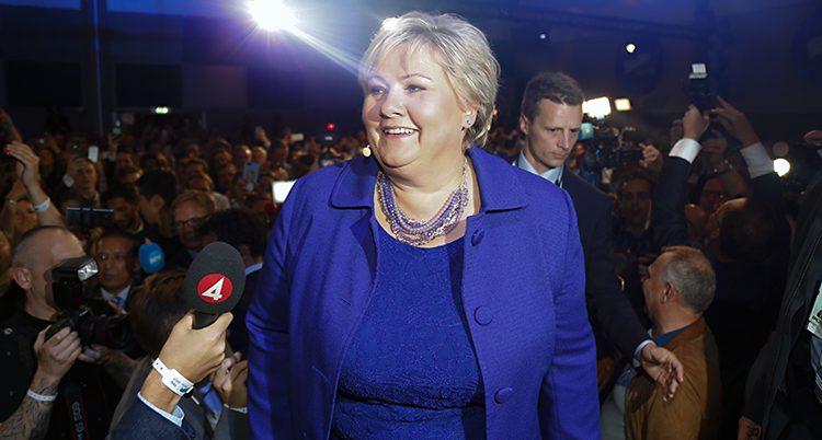 Norges statsminister Erna Solberg