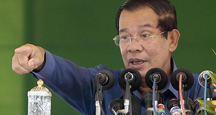 Kambodjas ledare Hun Sen