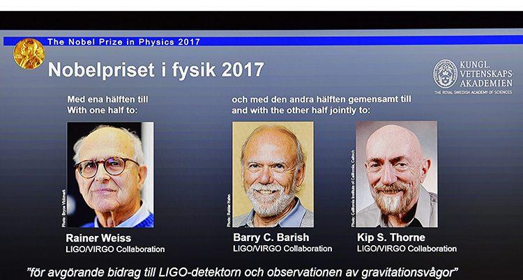 De får Nobelpriset i fysik