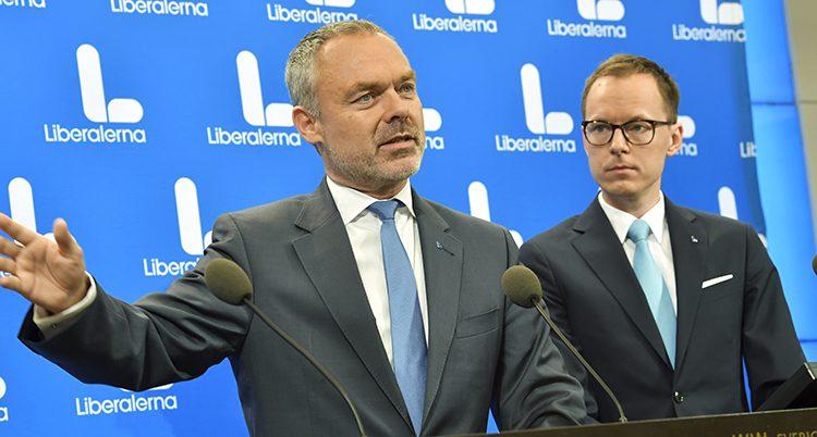 Jan Björklund och Mats Persson i Liberalerna
