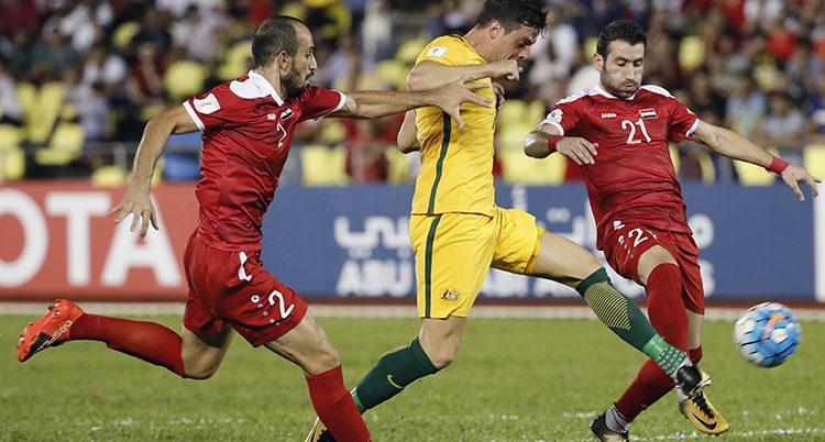 Syrien spelade oavgjort mot Australien