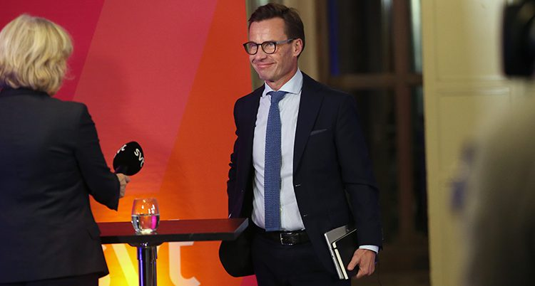 Ulf Kristersson i Moderaterna.
