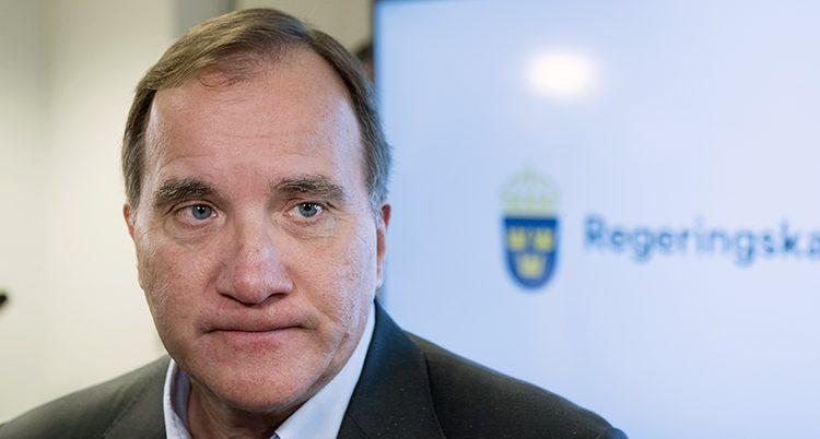 Statsminister Stefan Löfven