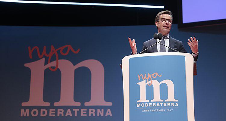 Moderaternas ledare Ulf Kristersson