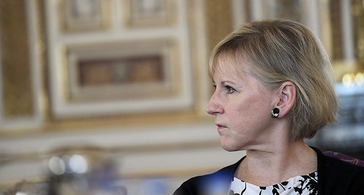 Sveriges utrikesminister Margot Wallström