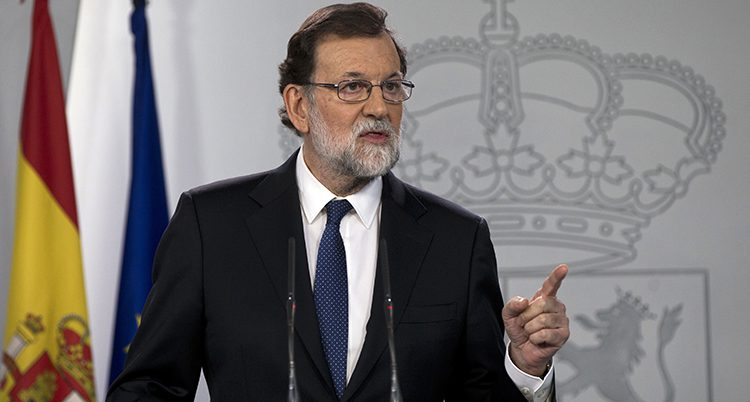 Spaniens ledare Mariano Rajo