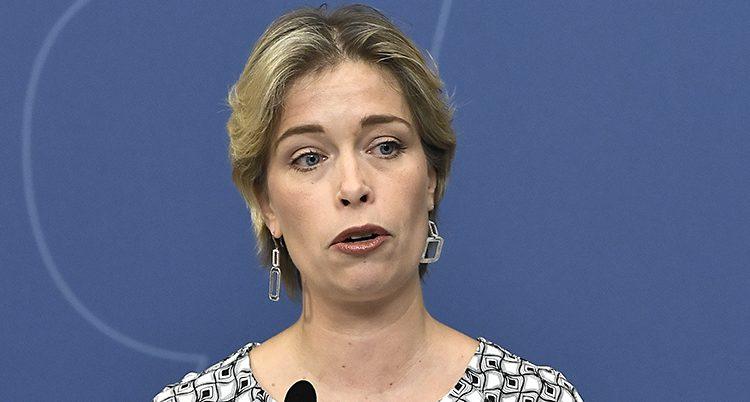 Ministern Annika Strandhäll