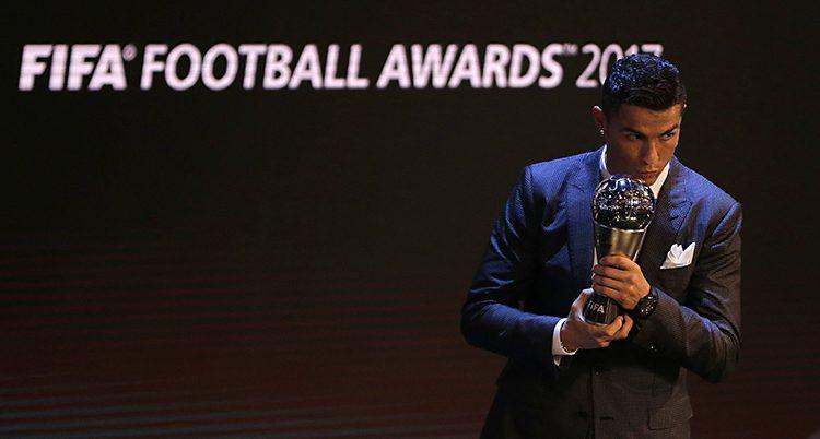 Fotbollsspelaren Cristiano Ronaldo.