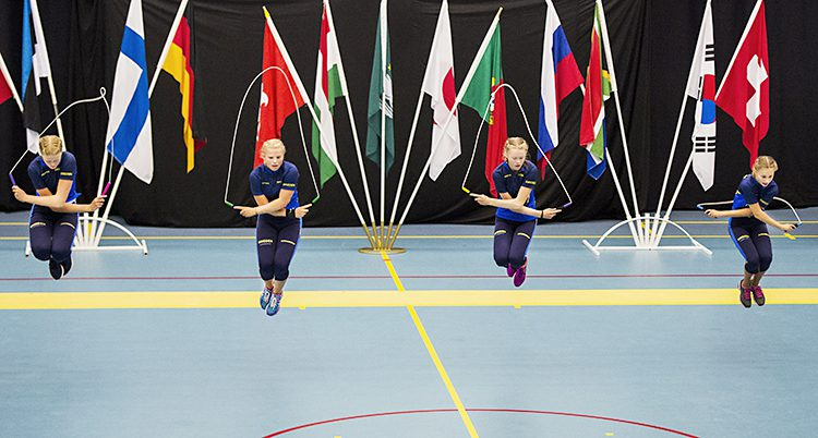Sveriges lag tävlar i VM