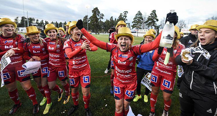 Linköping firade SM-guldet