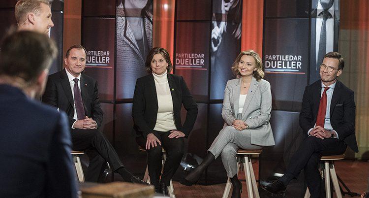 Debatt i TV4.