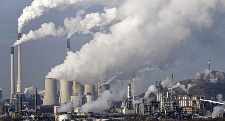 Rök från ett kolkraftverk