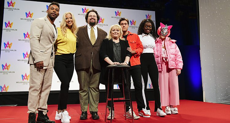 Artister från Melodifestivalen 2018.