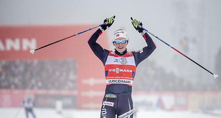 Marit Björgen från Norge