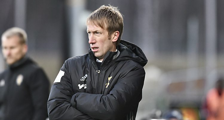 Östersunds tränare Graham Potte