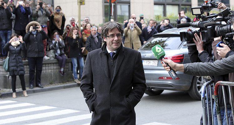 Carles Puigdemont i Belgien