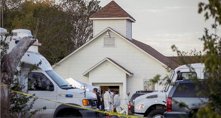 Kyrkan där 26 människor dödades