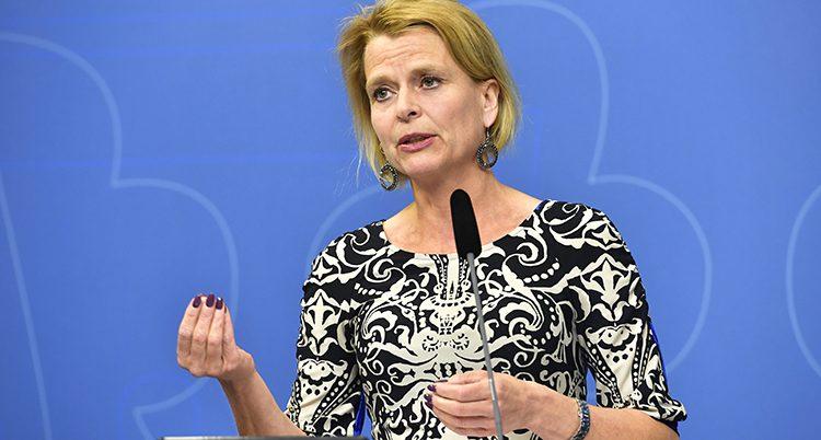 Åsa Regnér är minister i regeringen