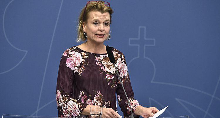 Ministern Åsa Regnér.