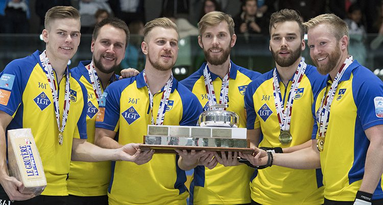 Det svenska herrlaget vann EM-guld