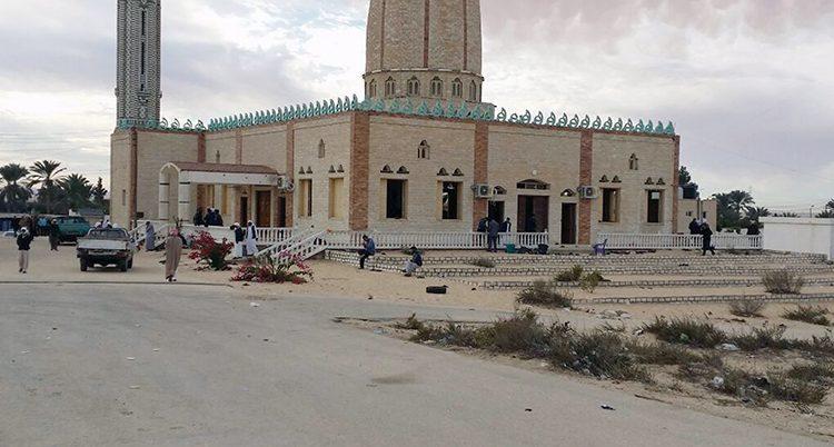 Moskén som terroristerna attackerade