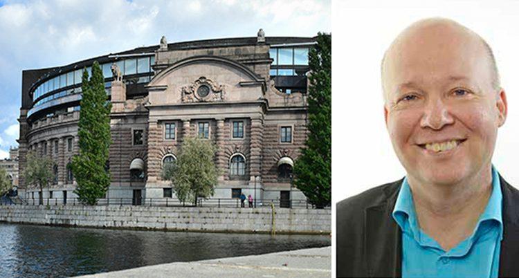 Stefan Nilsson är politiker i riksdagen
